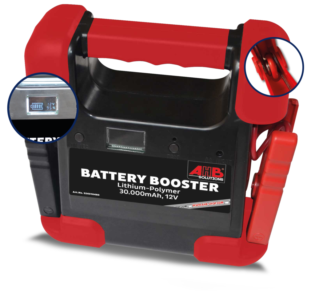 Battery Booster Lithium Polymer by AHB